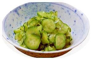 【副菜】きゅうりの三杯酢