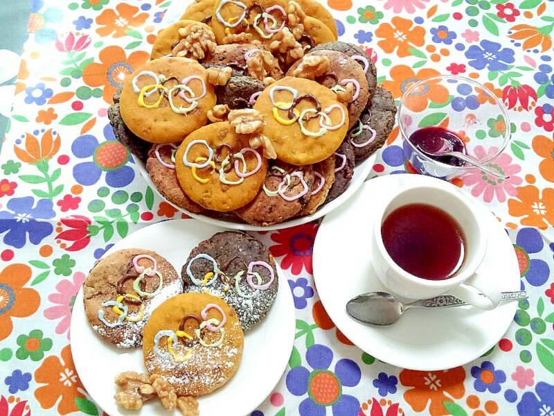 クルミたっぷり!美味しいメダルクッキー