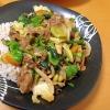野菜たっぷりスタミナ丼(`_´)ゞ