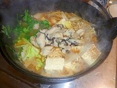 海のミルク+旬の野菜でかきの土手鍋