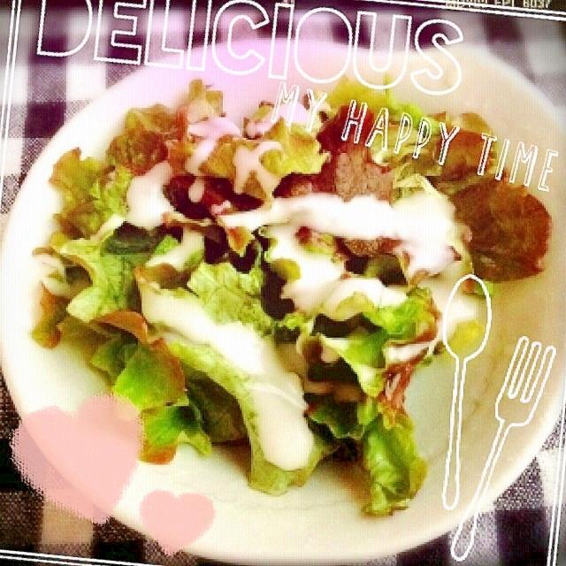 ☆サニーレタスサラダ☆