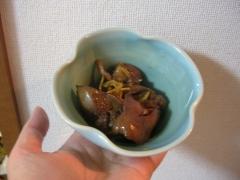 麺つゆで簡単♪ 鶏レバーの生姜煮