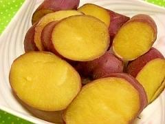 炊飯器で蒸し芋☆しっとり~ねっとりサツマイモ