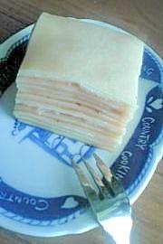 豆乳カスタードのミルクレープ