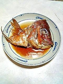ご飯・お酒のお供に☆鯛の兜煮☆