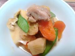 ★鶏と筍と油揚げの簡単煮物★