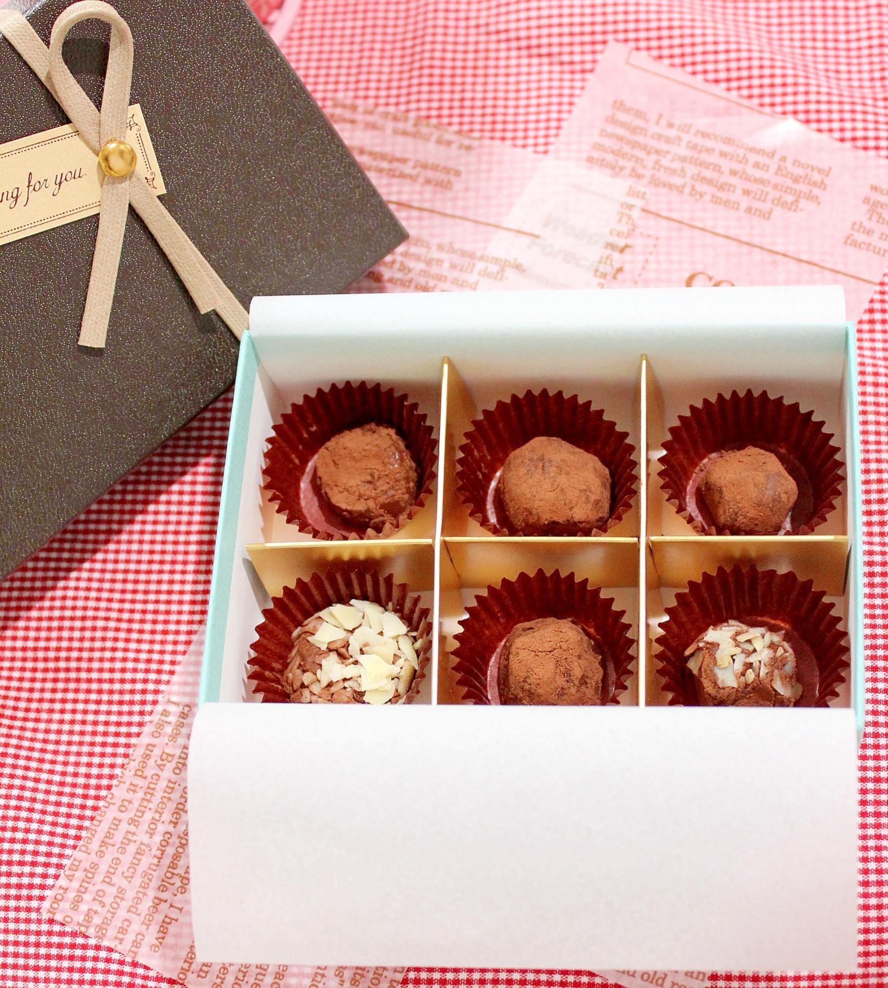 【糖質制限】デトックス薬膳トリュフ♪低カロ生チョコ