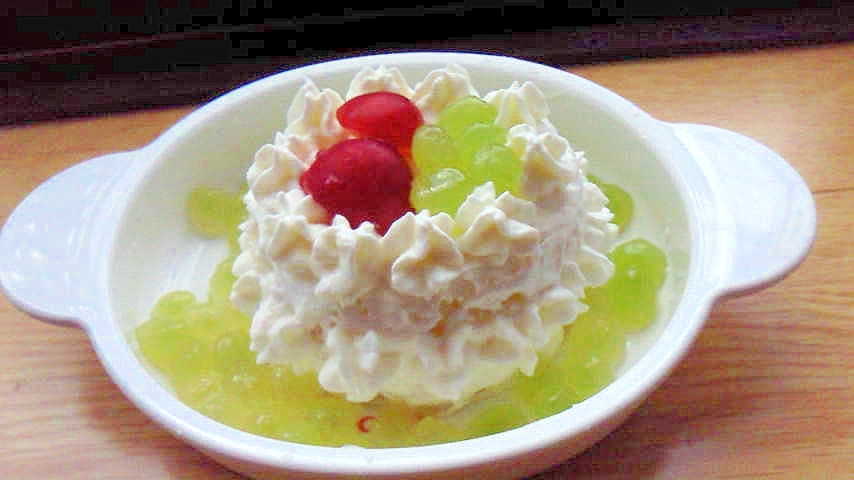 1歳のお誕生日☆ヨーグルトケーキ