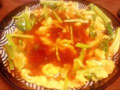 トロ~リ小松菜卵焼き★ 和風ポン酢あん♪