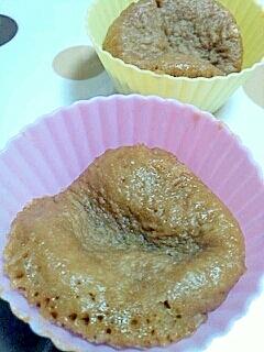 ホットケーキミックスでコーヒー蒸しパン