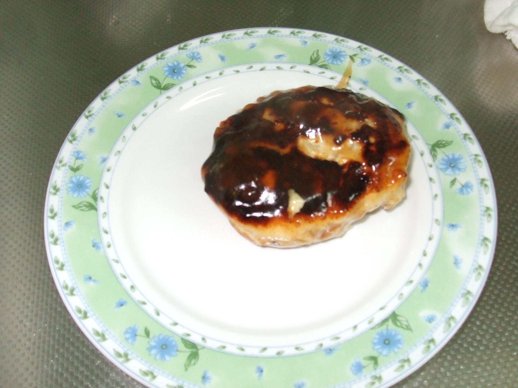 豆腐と鶏ミンチのハンバーグ