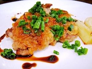 混ぜ焼くだけで簡単♪鶏肉の味噌焼き