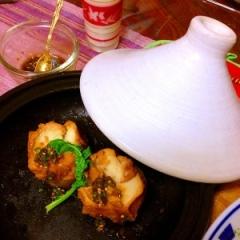 仙台麩とタジン蒸し大根のオードブル