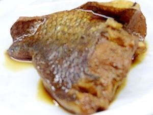 ☆鯛の甘辛☆焼き煮にした鯛