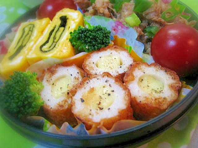 チーズちくわのブラックペッパー炒め☆お弁当にも。 レシピ・作り方 by ミルク白うさぎ|楽天レシピ