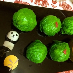つるんと食べちゃう⁉︎おかのりの手毬寿司