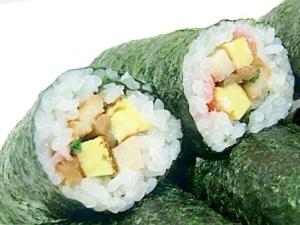 あるもので♪巻き寿司、恵方巻きの具2012節分覚書