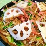 ごぼうと壬生菜の野菜が香るちらし寿司