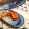 殻付きムール貝のボイル(下処理)