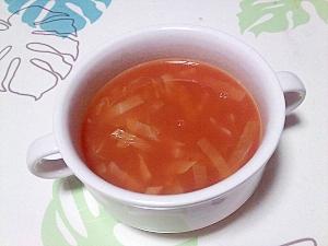 胃腸を労る♪トマトクリームスープ++