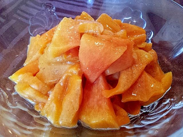 柿のフィリング(柿ジャム)