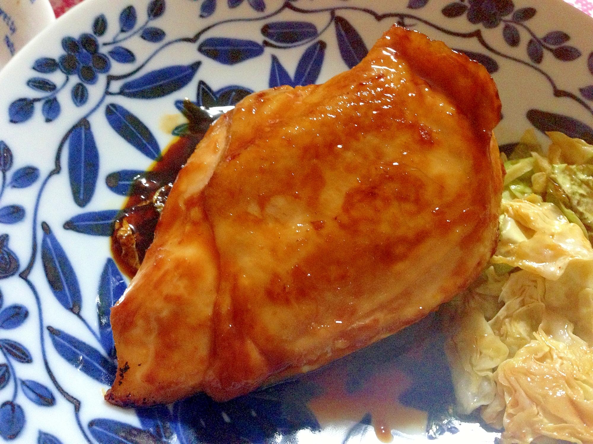 鶏肉のコチュジャンだれ照り焼き