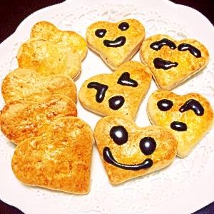ホットケーキミックスでちょっと甘いジャムクッキー