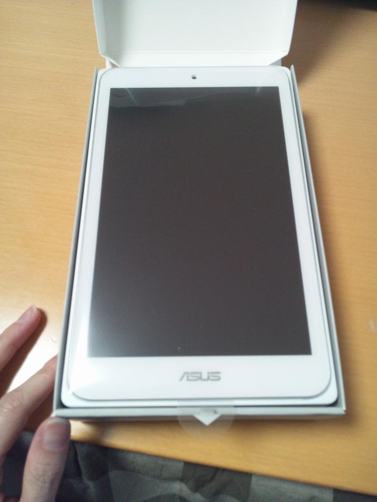 【楽天市場】購入者さんの【送料無料】 ASUS MeMO Pad 8 [Androidタブレット] ME181 ...
