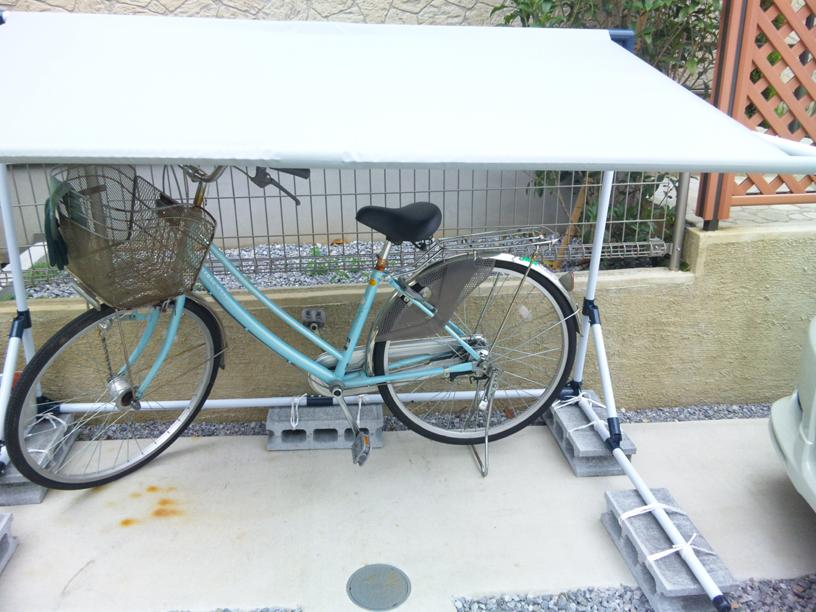 】送料無料!自転車の雨よけ ...