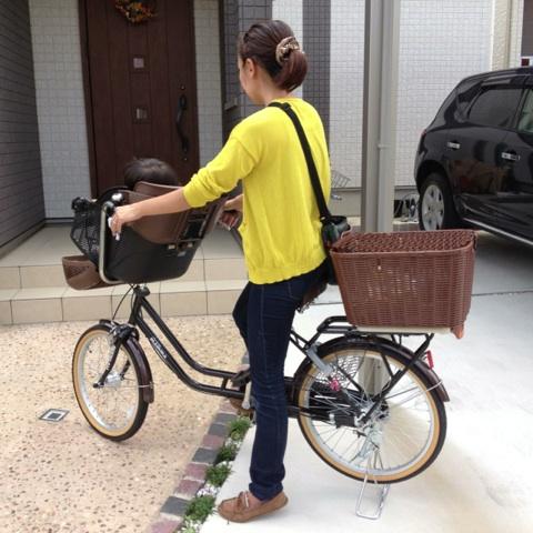 完全組立発送】子供乗せ自転車 ...