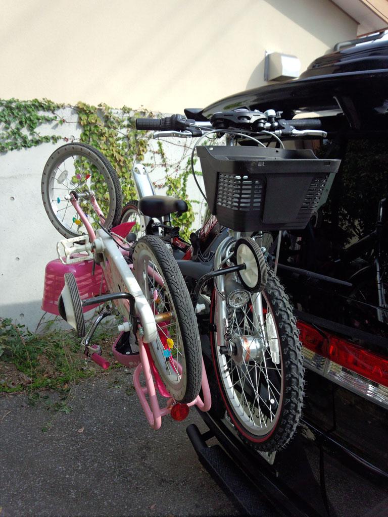 自転車の 自転車 キャリア 背面 : さんのTERZO/サイクルキャリア ...