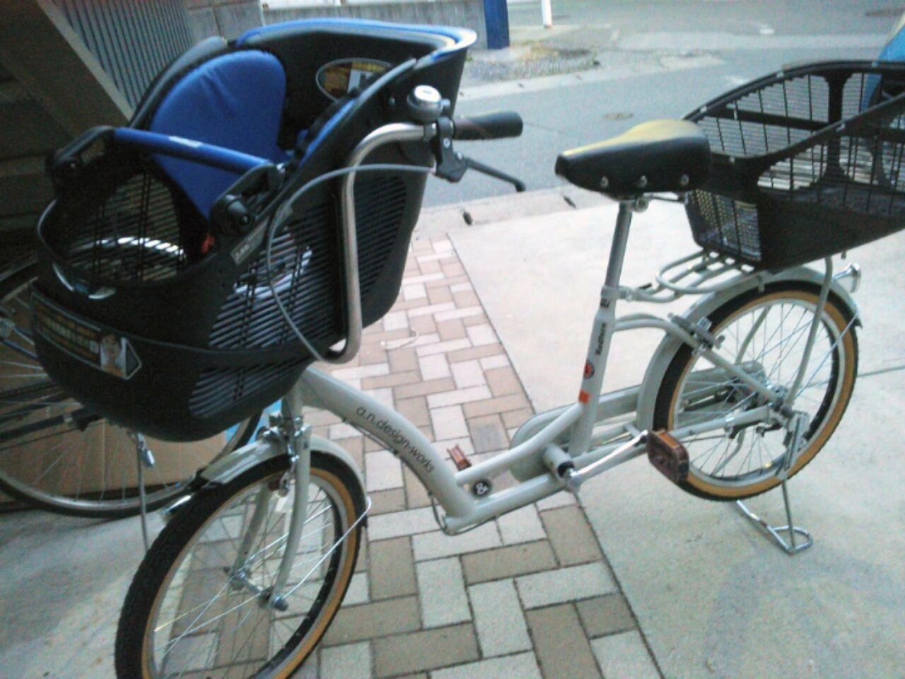 】自転車 20インチ 子供乗せ ...