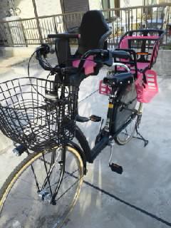 用子供乗せ】自転車/子供乗せ ...