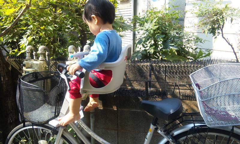 自転車の 自転車 前乗せ ogk : ... 自転車用前用(自転車子供乗せ