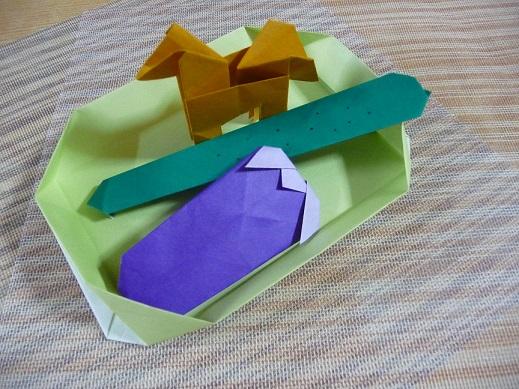 すべての折り紙 お盆 飾り 折り紙 : お盆の飾りを作ったよ | 折り紙 ...