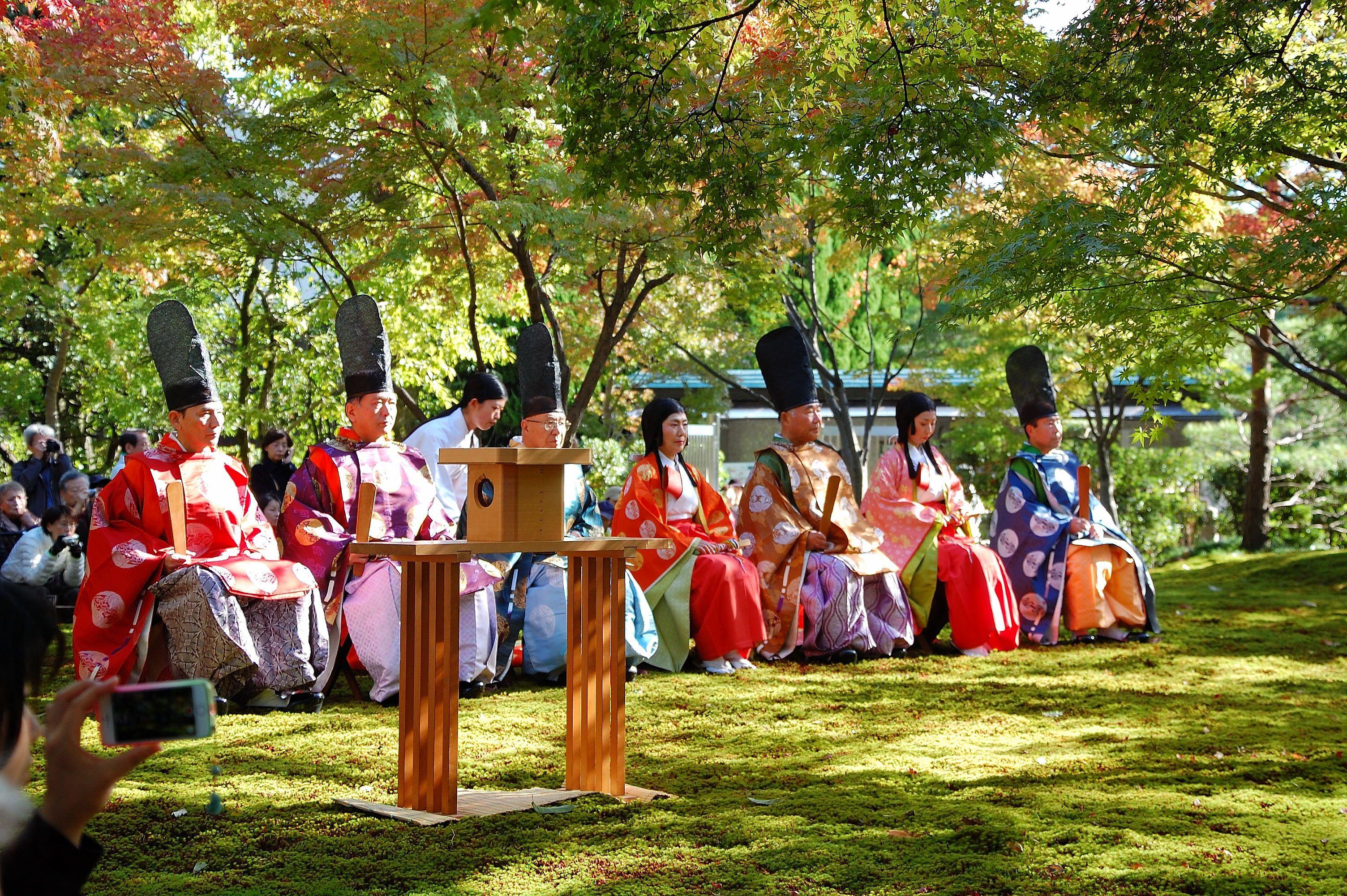 京都観光 曲水の宴 | 薬剤師Step...