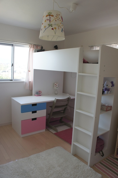 IKEA システムベッド STUVA | JIBUNRASISA - 楽天ブログ