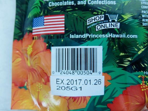 チョコ コーヒービーンズ 1,468円→577円 ハワイ コストコ アイランドプリンセス チョコレートカバード コーヒービーンズ