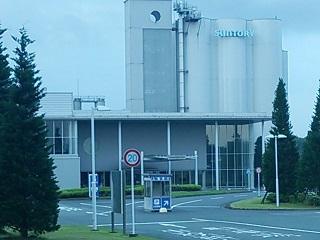 サントリー熊本工場1