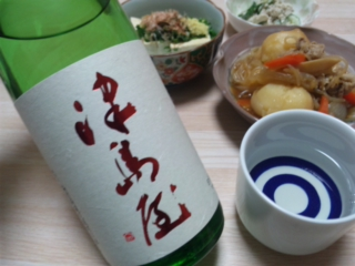 津島屋・純米吟醸無濾過生原酒23BY