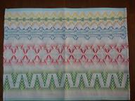 刺繍(ランチョンマット)