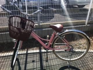 自転車の ピンクの自転車 子供 : 子供乗せ自転車(試乗しました ...