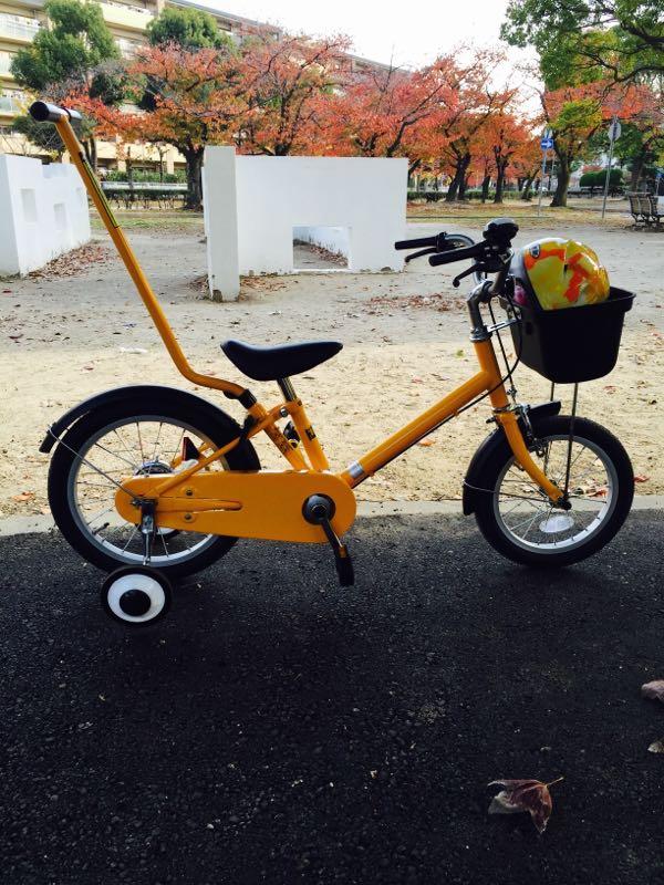 MUJIの子供の自転車・・・