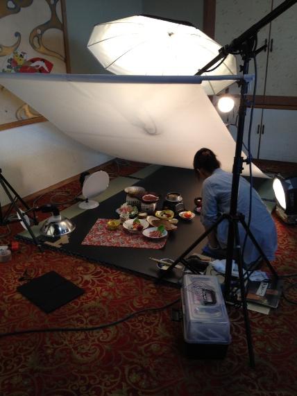 10月からのお料理写真の撮影