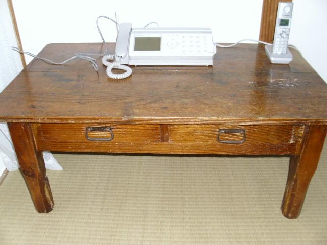木製机20120205