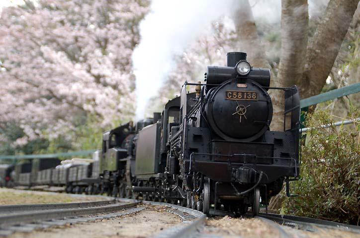 私の汽車遊びは   nakaの蒸気機...