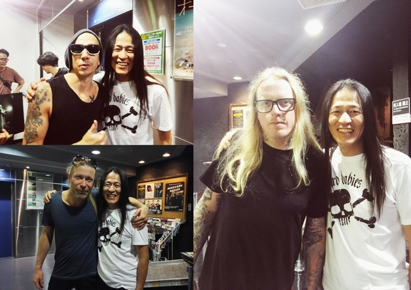 BACKYARD BABIES at 名古屋クラ...