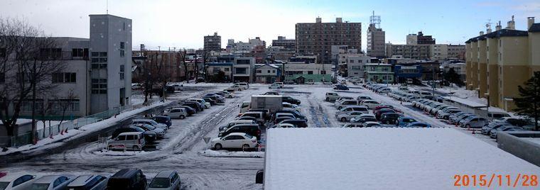 11/28駐車場も雪景色.jpg