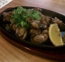 炭大 鶏のコロ焼き
