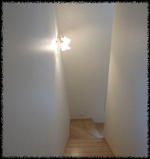夜の階段照明 | おうち ...